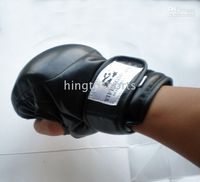 Wholesale Practice Grappling Gloves Boxing Sport Fighting Glove Black Regular Size Boxer Training Kickboxing