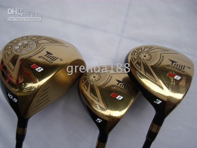 Wholesale grenda d8 driver fairway woods and regular flex pc set china NO1 brand