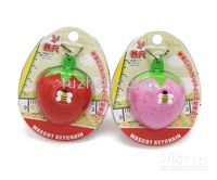 Wholesale Christmas Promotion New Novelty Strawberry Shape Tape Measure Cute Cartoon Ruler Mini Tape Measure