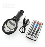 Wholesale Brand new MP3 MP4 Accessories Car MP3 Player FM Transmitter USB PenDrive SD MMC