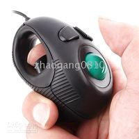 NEW Finger Hand Held 4D USB Mini Trackball Mouse laptop Mous...