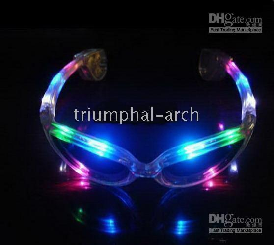 Wholesale Surprise price Women s Fancy Ball LED flash glasses fasion decoration for party dancing wom