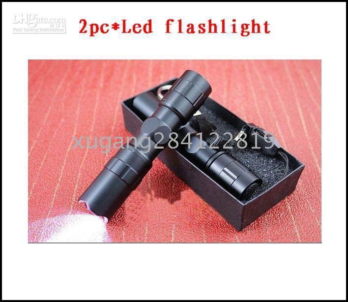 Wholesale 10pcs Tactical Flashlight Camping LED Light Lamp W Torch