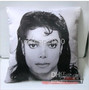 Wholesale 10PCS Michael Jackson Cushion Pillow Cover x40 cm iopuy about quot x15 quot