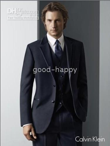 Linen apparel trimmings - Classic Tuxedos Men s Wedding Dress Groomsman Wear party Clothing Prom Apparel jacket pants tie vest A2021