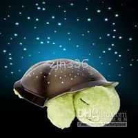 Wholesale New Twilight Turtle Night Light Stars Lamp Baby Care