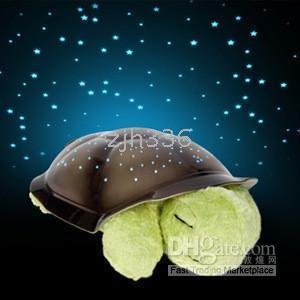 Animal turtle - New Twilight Turtle Night Light Stars Lamp Baby Care
