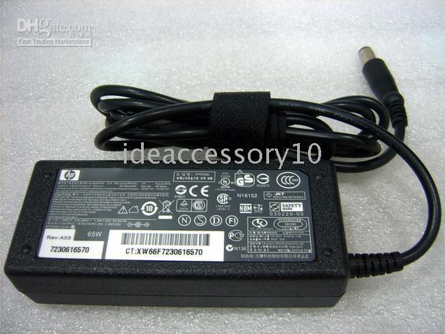 Replacement lapac adapter  hp 18 5v 3 5a pin 65w compatible compaq hp ac charger not included power cord guarantee (88104462) photo