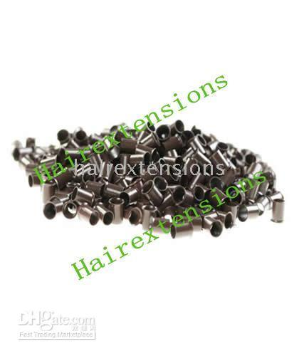 Wholesale Copper Tube Micro Rings Links for Hair Extensions mm Items Per