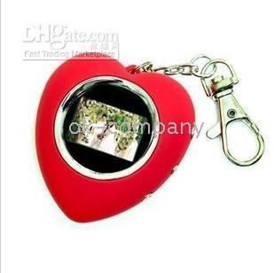 1.1 inch digital photo frame - Christmas Gift inch Digital Photo Frame Key Chain