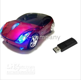 1pcs Sport CAR Wireless Mouse Mice For Laptop PC HOT,directly from factory aan