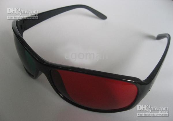 Wholesale 3D glasses Film3D glasses Three dimensional D glasses Red and blue D glasses