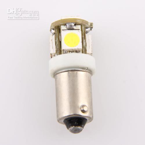 H6W-1895 bayonet light bulbs - For Car BA9S T4W Bayonet LED bulb White Light