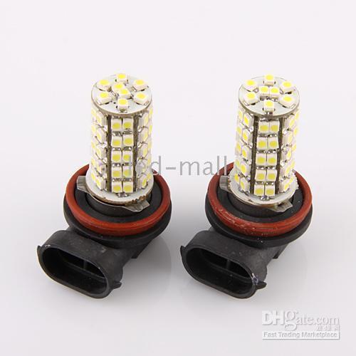 Wholesale H11 SMD LED White Car Fog Light Daylight Lamp Bulb V