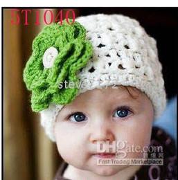 Children's hats baby Caps knittings hat crochet hat headgear girls beanie boys handcraft beret CL833