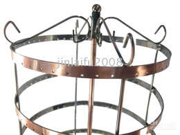 288 HOLES ROUND EARRINGS SHOW DISPLAY STAND RACK HOLDER
