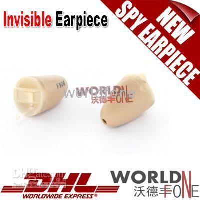Wholesale Full Skin Mini Spy Earpiece Wireless Invisible Earpiece Earphone For Exam Student WF SE03