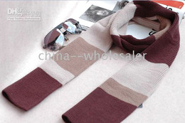 Fashion Warm Knitted Wool Men's Scarves Sports Scarf Unisex Brand New Christmas gifts 5pcs lot
