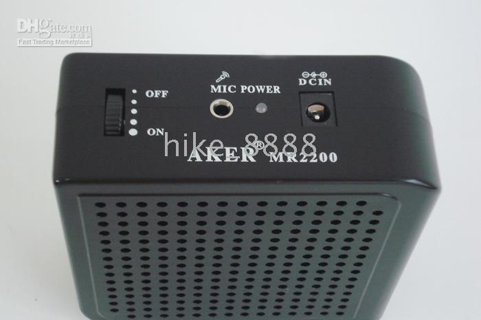 Wholesale Voice Amplifier Speaker W Portable MR2200 Black NEW