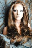 Wholesale Gorgeous quot quot Heat Friendly Synthetic Lace Front Sexy Wave Hair Wigs