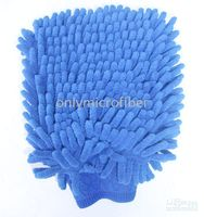 Wholesale 24PC Big Both Side Microfiber Chenille Mitt Car Wash Glove Cleaning Tool Supply Home Duster Cleaner
