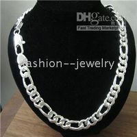 Wholesale sterling silver Chain Men s Necklace quot MM new jewelry