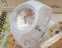 Wholesale OTM colored sugar jelly watch electronic watch waterproof Rainbow Candy Tab