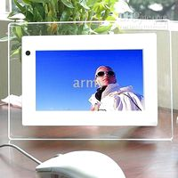 Wholesale 7 inch Digital Photo Frame Photo Music Video Player Calendar Clock Best Christmas Gift