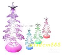Wholesale LED Christmas tree table decoration USB lighting slow RGB light xmas DROPSHIPPING