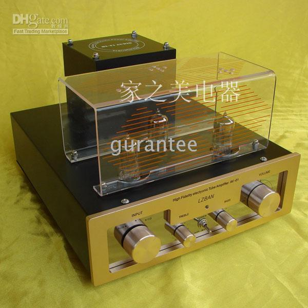 tube amplifier - State special promotions Dragon Tube Amplifier HIFI Amplifier AV01 NO11090310