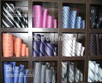 Wholesale new styles Mens Ties Necktie dress tie Neck TIE Stripe silk factory s tie men s ties p