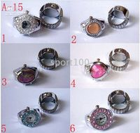 Wholesale 10pcs Novel ring watches flip watches fashion jewelry d