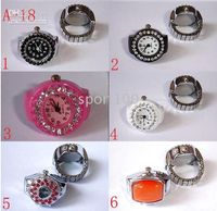 Wholesale 10pcs Novel ring watches flip watches fashion jewelry g