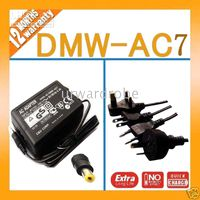 Wholesale NEW AC Adapter Charger for Panasonic Digital Cameras DMW AC7 DMC FZ3 DMC FZ4 DMC FZ5