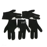 Wholesale Gloves Billiards Pool Snooker Cue Shooters Fingers Gloves Black Sets J7414BL