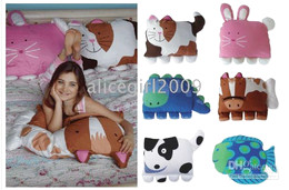 Wholesale baby kids cute cartoon pillow doomagic pillow good quality