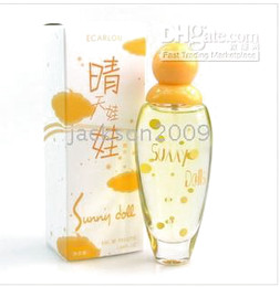 Wholesale Christmas Birthday Gift SUNNYDOLLS Perfume Yellow fruity perfume ml