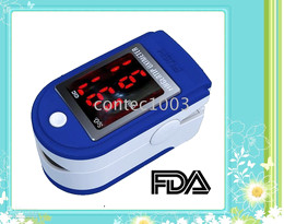 10 pcs wholesale Fast shipping Finger Pulse Oximeter Blood Oxygen Monitor CMS-50DL