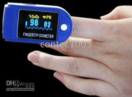 Wholesale 5 Color Pulse Oximeter FDA CE Fingertip Spo2 Blood Monitor popular model