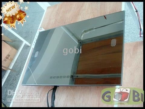 Wholesale 32 Outdoor Waterproof Mirror TV Bathroom Digital LCD TV HDMI FreeView Advertising Silver Mirror TV