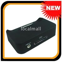 Wholesale Brand New Black Protable Light Universal Dock Charger For iPhone G GS