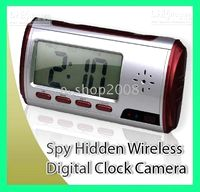 Wholesale Spy Hidden Camera Clock M With Remote Control Motion Detection