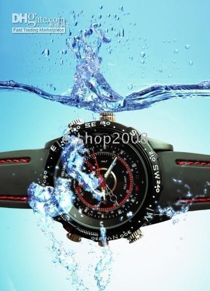 Wholesale 4GB CCTV Waterproof HD Spy Watch Camera DVR Record M Pixles
