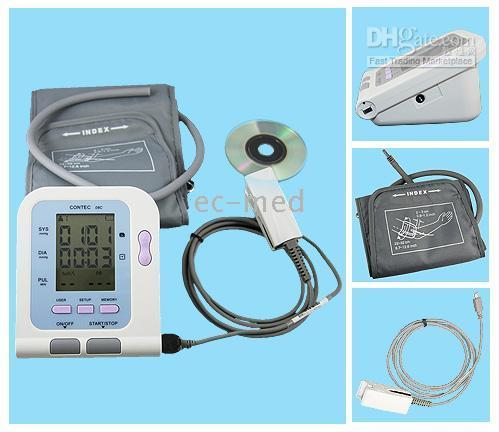 Wholesale CONTEC C Blood Pressure Monitor with Free adult SPO2 Free Software