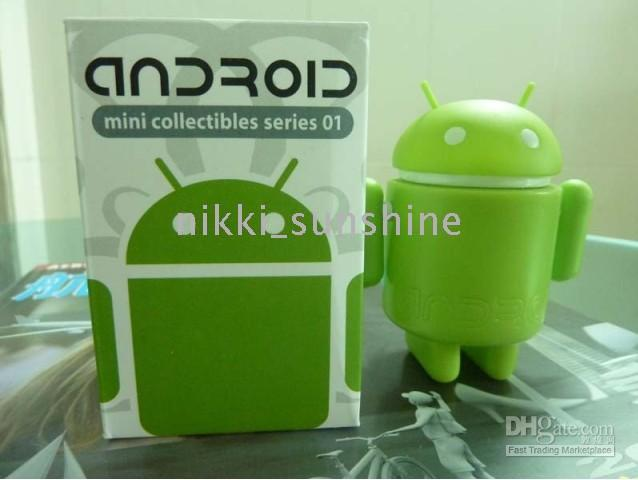 Wholesale Google robot Toy for Google Android Cute Green Toy collectible comiccon robot amp Christmas Gift