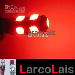 2PCS T10 194 168 9LED W5W 9 SMD LED Lamp Bulb Lights 12V RED 1252 2450 2652 2921 2825