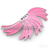 Wholesale Jewelry Accessory Christmas Ornaments Pink Banana Charms Pendants Beads