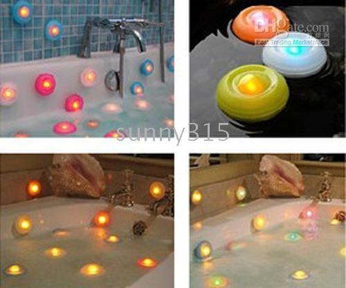 bath spa package - 100pcs LED Swimming Pool SPA LIGHT Effects Bathtub Light Bath Pool light with box package