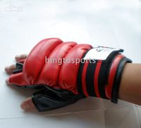 Wholesale Boxing Glove Free Combat Karate Gloves Soft PU MMA Sparring Figther Good Hand Protector