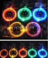 Wholesale LED light up shoelaces shoe laces disco flash Optical Fiber flashing from victoria5168